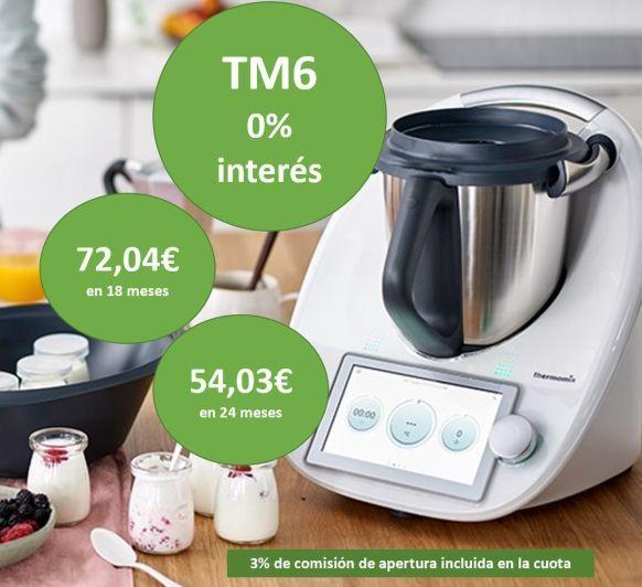 CONSIGUE TU TM6 CON FINANCIACIÓN 0% HASTA EL 4 DE MAYO