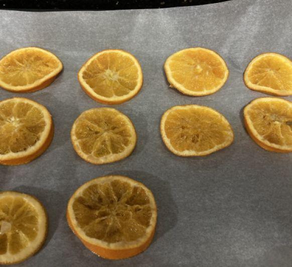 Naranja confitada con Thermomix®