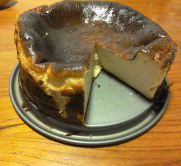 Tarta de queso de horno