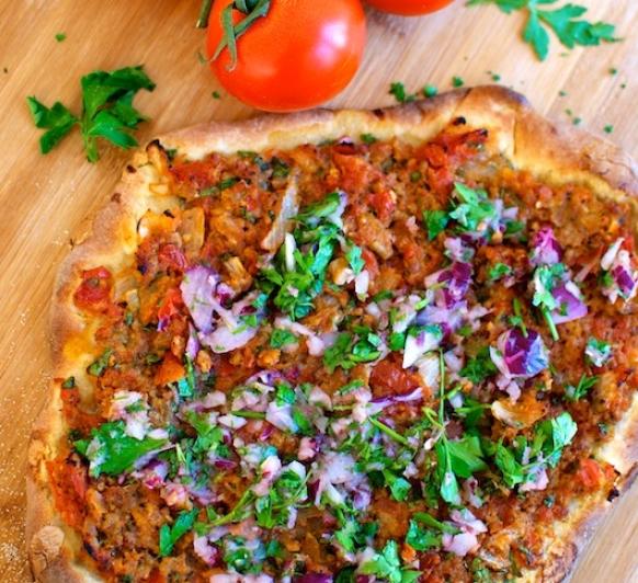 Pizza turca con Thermomix®