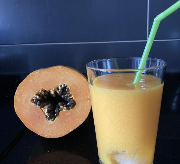 Zumo de papaya y naranja con Thermomix®