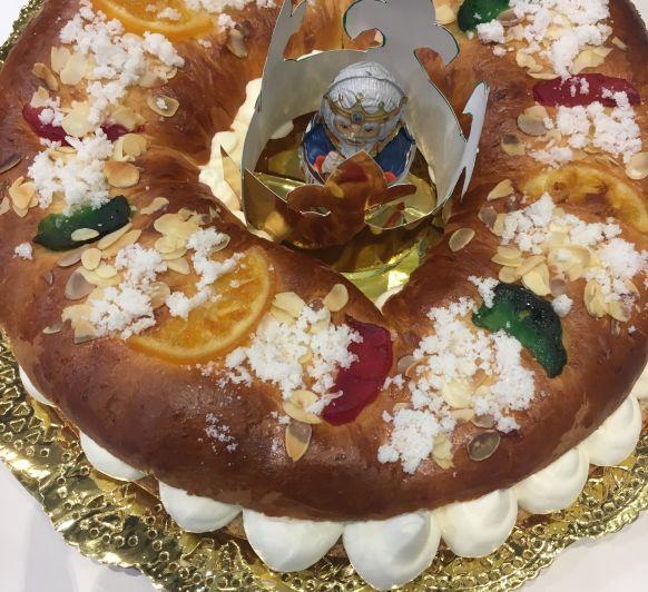 Roscón de Reyes en Vitoria