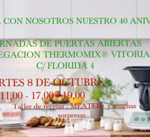 JORNADA DE PUERTAS ABIERTAS EN LA DELEGACIÓN DE Thermomix® VITORIA