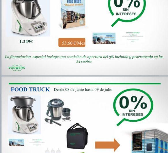 Edición FOOD TRUCK, 24 meses, 0% intereses