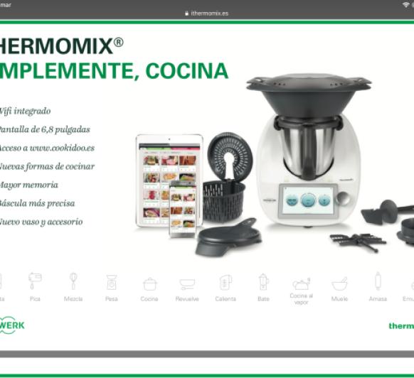 Thermomix® TM6, El LIBRO DE COCINA MÁS GRANDE DEL MUNDO .