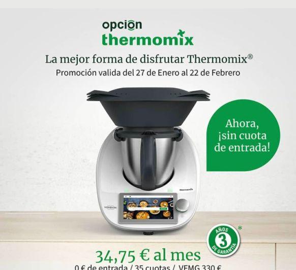 Sí, Thermomix® sin pagar, con Thermomix® es diferente